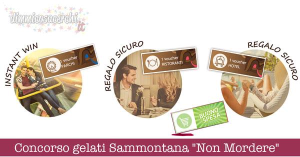 """Concorso gelati Sammontana """"Non Mordere"""""""