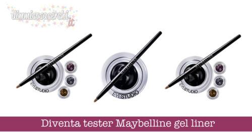 Diventa tester Maybelline gel liner