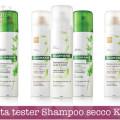Diventa tester Shampoo secco Klorane