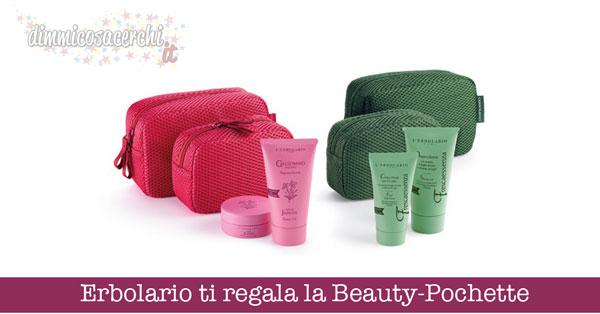 Erbolario ti regala la Beauty-Pochette