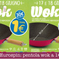 Eurospin pentola wok