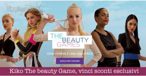 Kiko The beauty Game, vinci codici sconto esclusivi