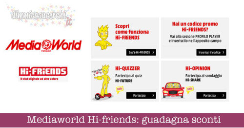 Mediaworld Hi-friends