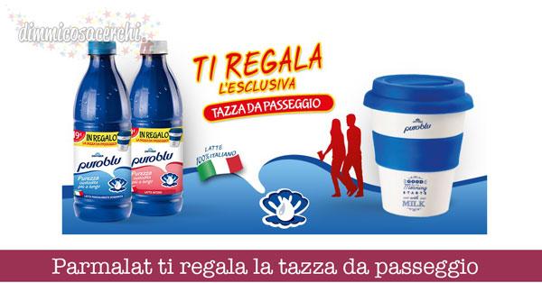 Parmalat ti regala la tazza da passeggio