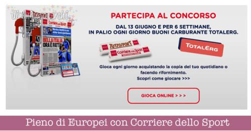 Pieno di Europei con Corriere dello Sport e Tutto Sport