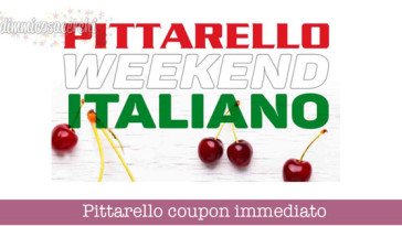 Pittarello coupon immediato