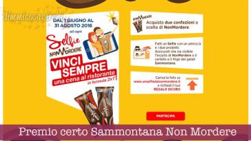 Premio certo Sammontana Non Mordere