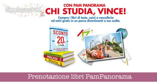 Prenotazione libri PamPanorama