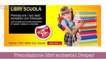 Prenotazione libri scolastici Despar