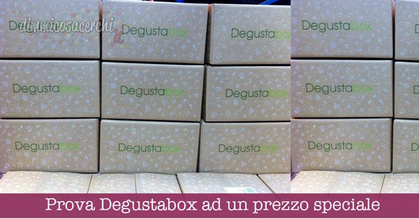 Prova Degustabox ad un prezzo speciale