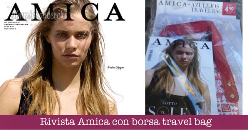 Rivista Amica con borsa travel bag