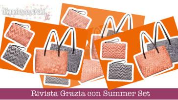 Rivista Grazia con Summer Set