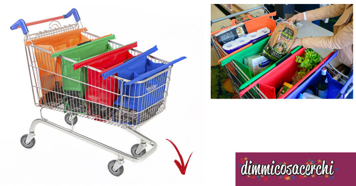 Trolley bags, borsa per la spesa