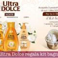 Ultra Dolce regala kit bagno
