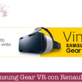 Vinci Samsung Gear VR con Renault Scenic