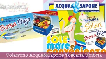 Volantino Acqua&Sapone Toscana Umbria