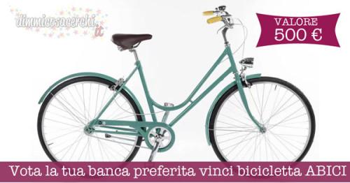Vota la tua banca preferita vinci bicicletta ABICI
