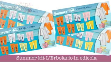 Summer kit L'Erbolario in edicola