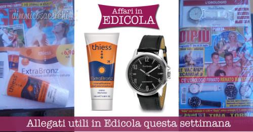 Allegati utili in Edicola questa settimana