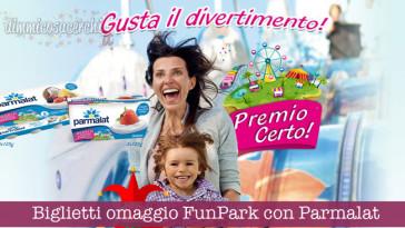Biglietti omaggio FunPark con Parmalat