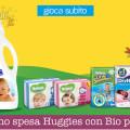 Buono spesa Huggies con Bio presto