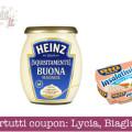 Buonpertutti nuovi coupon: Lycia, Biaglut, Heinz