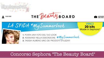 "Concorso Sephora ""The Beauty Board"""