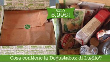 Cosa contiene la Degustabox di Luglio?