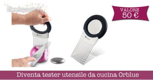 Diventa tester utensile da cucina Orblue