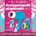 Eurospin Asciugacapelli pieghevole a 1 euro