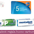 Mentadent regala buono carburante Ip da 5€