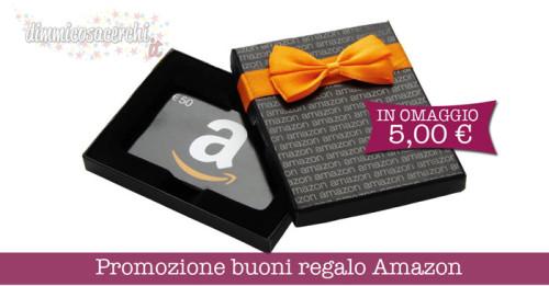 Promozione buoni regalo Amazon