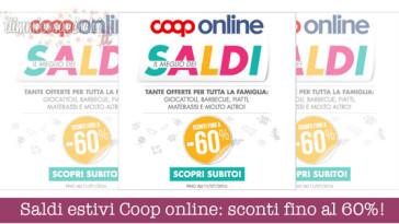 Saldi estivi Coop online