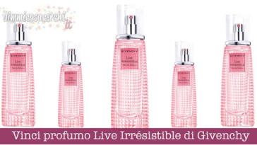 Vinci profumo Live Irrésistible di Givenchy
