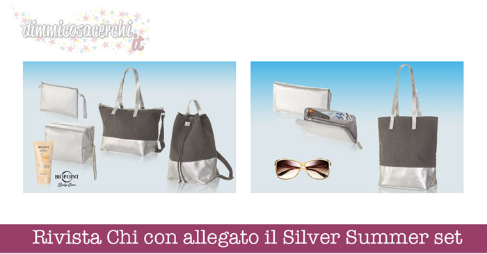 Silver Summer set