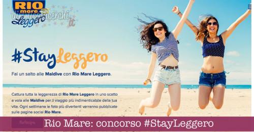 Rio Mare: concorso #StayLeggero