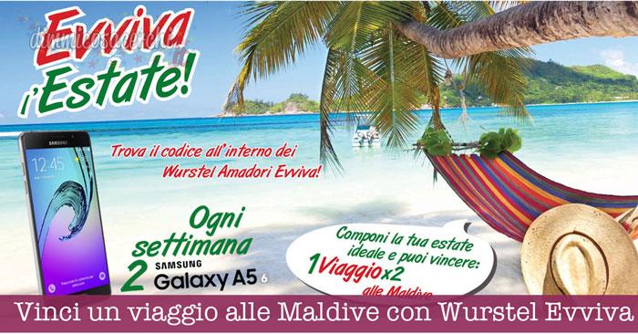 Vinci un viaggio alle Maldive con Wurstel Evviva