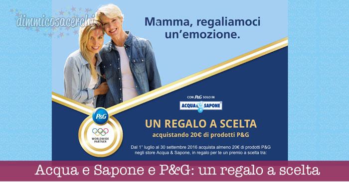 Acqua e Sapone e P&G