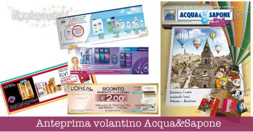 Anteprima volantino Acqua&Sapone