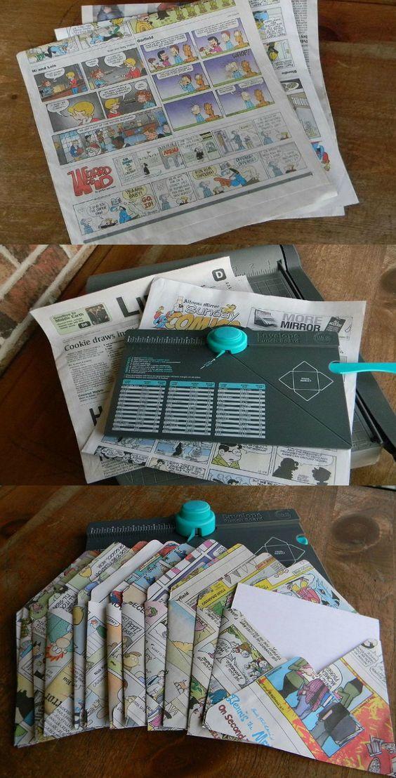 Buste da lettera con carta riciclata