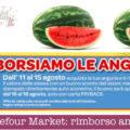 Carrefour Market: rimborso angurie