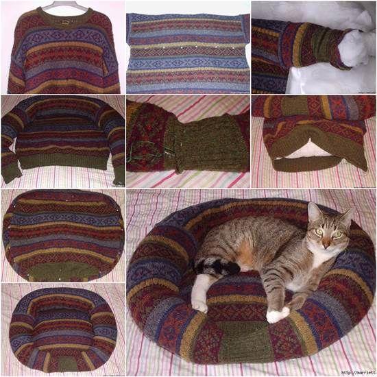 Come riciclare un vecchio maglione di lana