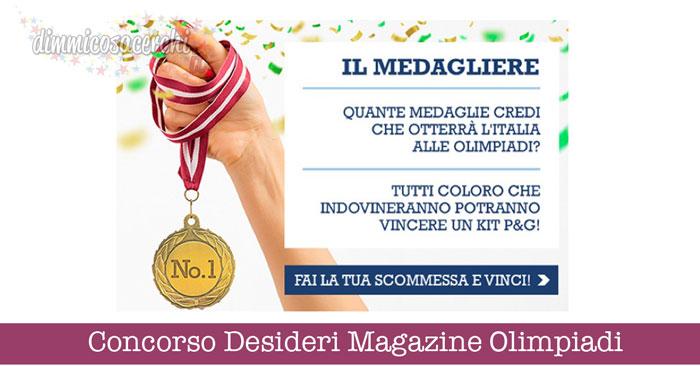 Concorso Desideri Magazine Olimpiadi