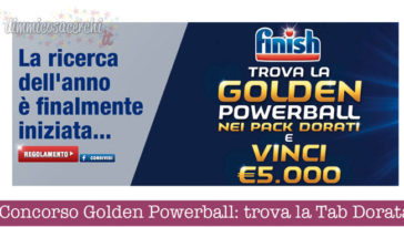 Concorso Golden Powerball