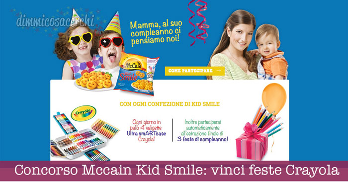 Concorso Mccain Kid Smile