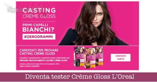 Diventa tester Casting Creme Gloss