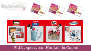 Fai la spesa con Henkel da Conad