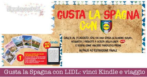 Gusta la Spagna con LIDL