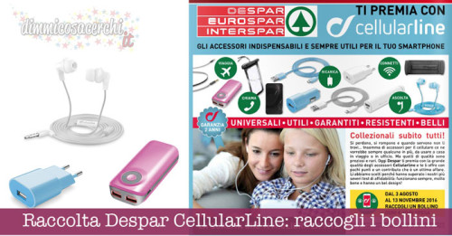 Raccolta Despar CellularLine