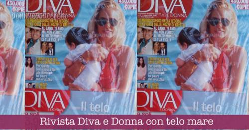 Rivista Diva e Donna con telo mare